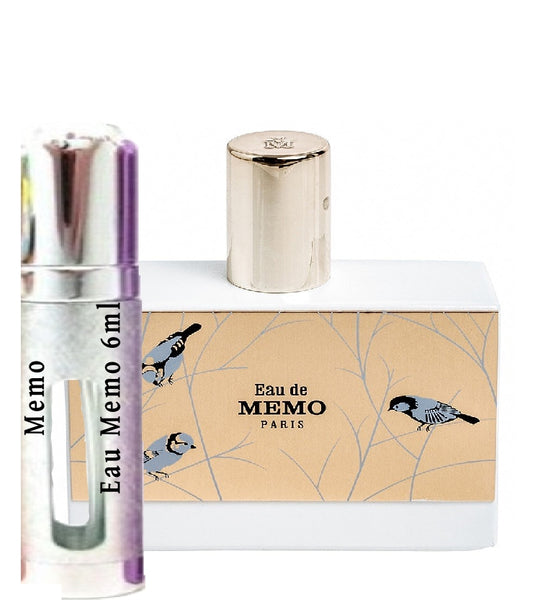 Memo Eau Memo samples 6ml