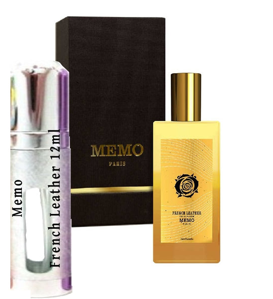 Memo French Leather samples 12ml