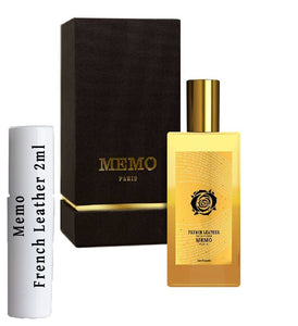 Memo French Leather samples 2ml