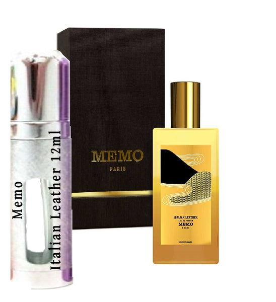 Memo Italian Leather samples 12ml