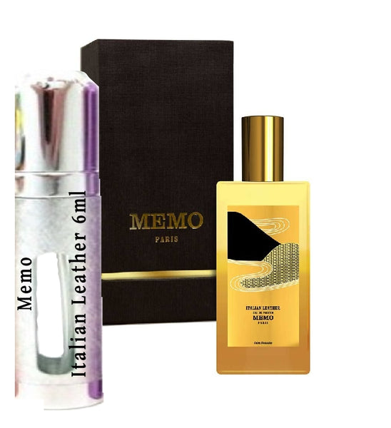 Memo Italian Leather samples 6ml