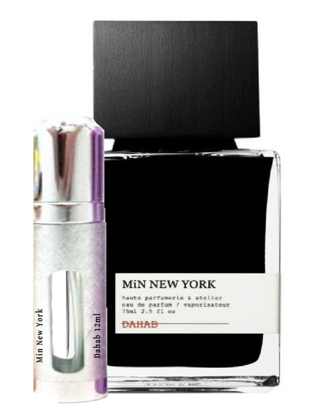 Min New York Dahab samples 12ml