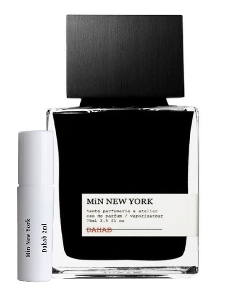 Min New York Dahab samples 2ml