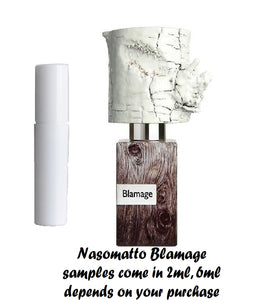 Nasomatto Blamage Sample 2ml