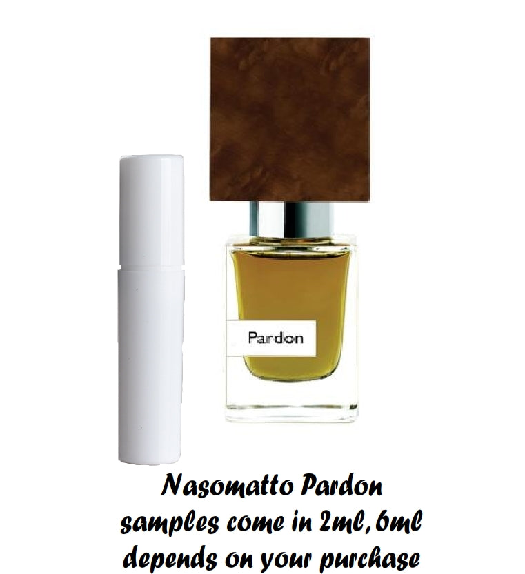 Nasomatto Pardon samples