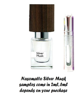 Nasomatto Silver Musk samples