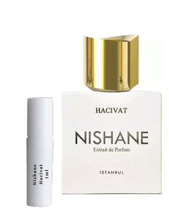 Nishane Hacivat sample vial spray 1ml