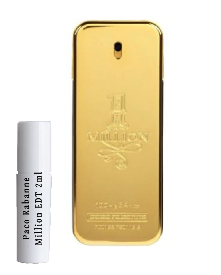 Paco Rabanne Million samples 2ml