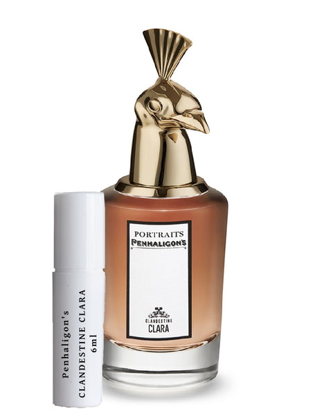 Penhaligon's Clandestine Clara samples 6ml