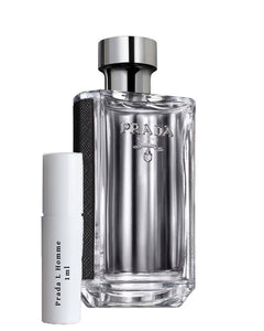 Prada L Homme sample vial spray 1ml