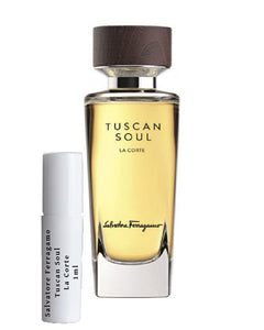 Salvatore Ferragamo Tuscan Soul La Corte sample vial spray 1ml