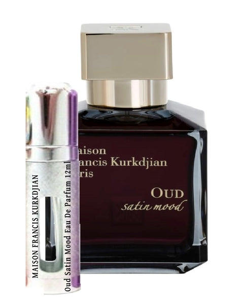 MAISON FRANCIS KURKDJIAN Oud Satin Mood samples 12ml Eau De Parfum