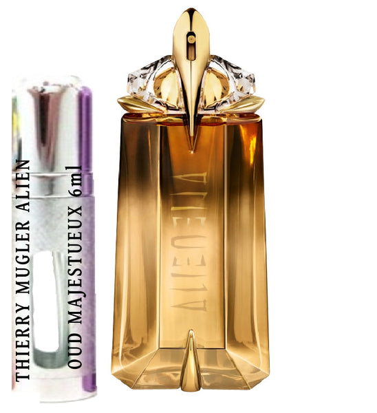 THIERRY MUGLER ALIEN OUD MAJESTUEUX samples 6ml