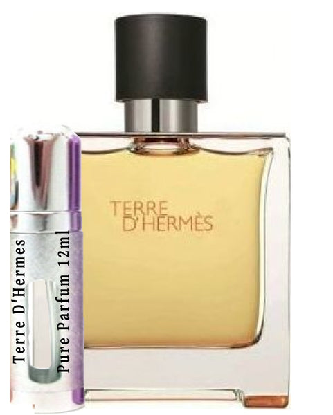 Terre D'Hermes Pure Parfum samples 12ml