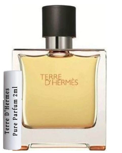 Terre D'Hermes Pure Parfum samples 2ml