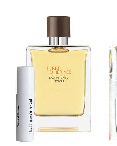 Terre d'Hermès Eau Intense Vetiver samples 2ml