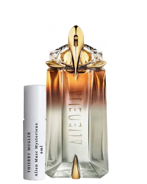 Thierry Mugler Alien Musc Mysterieux samples 6ml