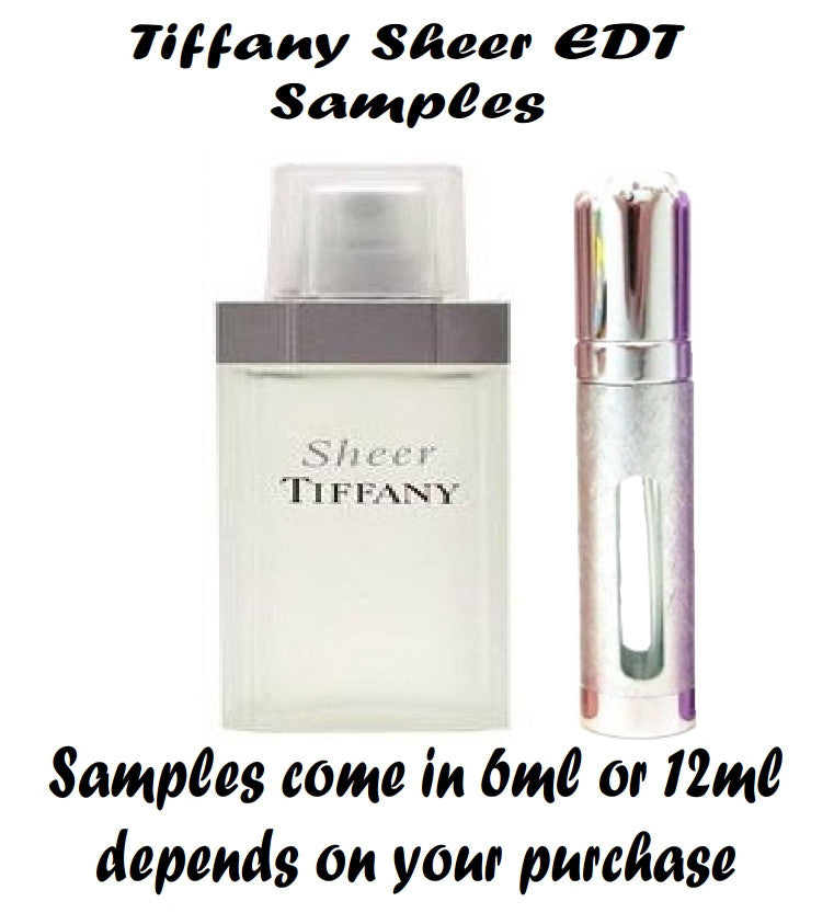 Tiffany Sheer Samples