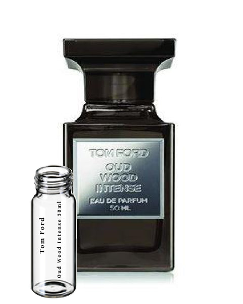 Tom Ford Oud Wood Intense sample vials