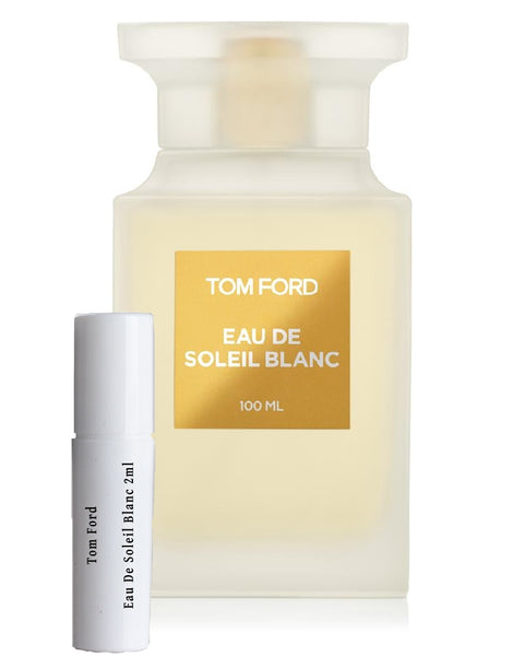 Tom Ford Eau De Soleil Blanc samples 2ml