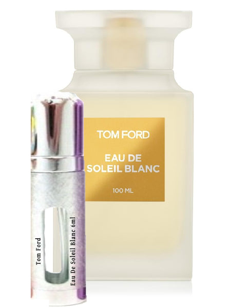 Tom Ford Eau De Soleil Blanc samples 6ml