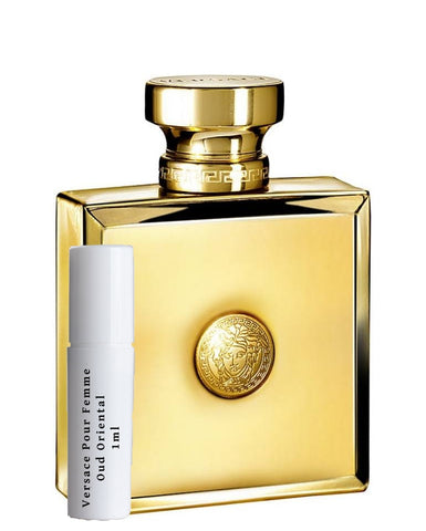 Versace Pour Femme Oud Oriental sample vial spray 1ml