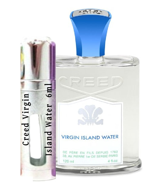 Virgin Island Water Samples 6ml
