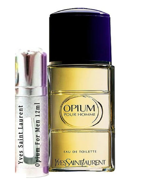 Yves Saint Laurent Opium For Men samples 12ml