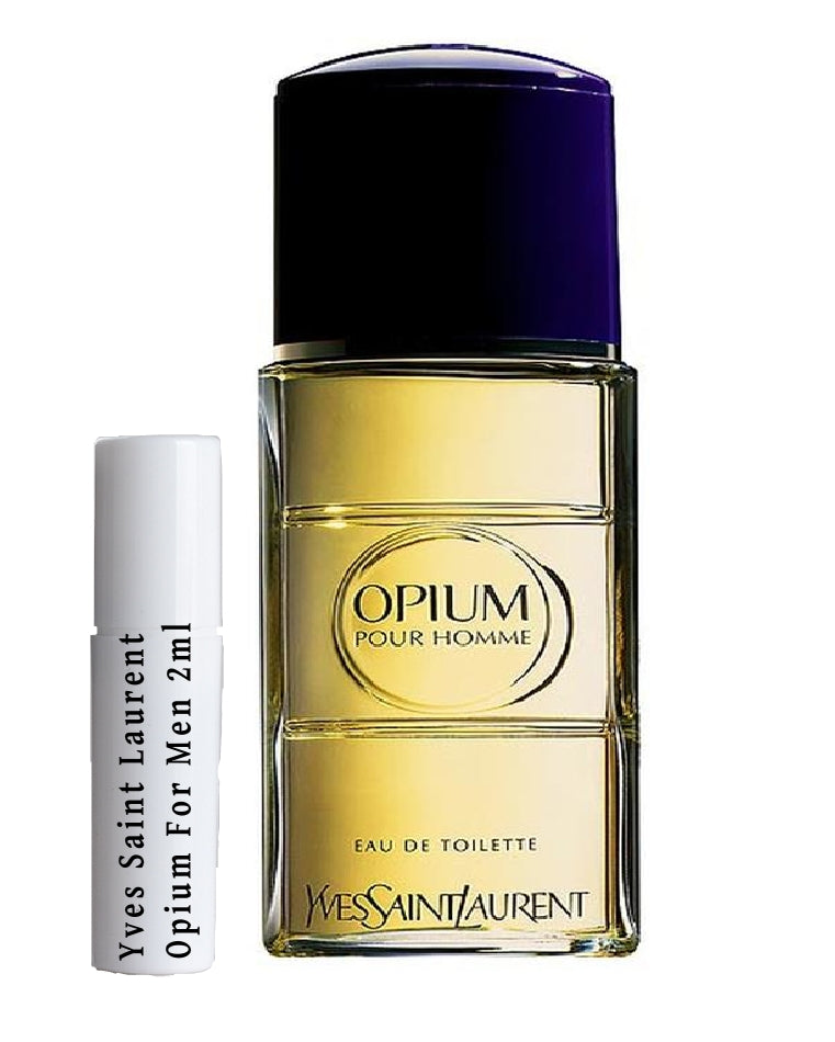 Yves Saint Laurent Opium For Men samples 2ml