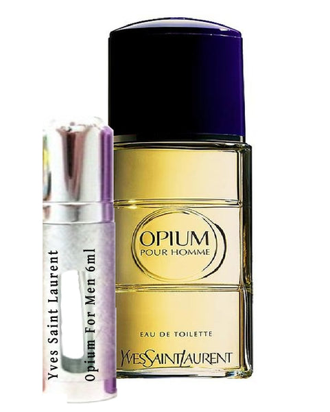 Yves Saint Laurent Opium Pour Homme samples 6ml