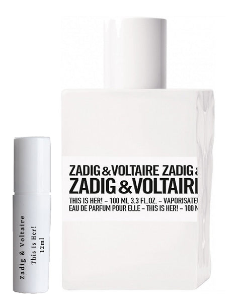 Zadig & Voltaire This Is Her! parfummonsters 12ml