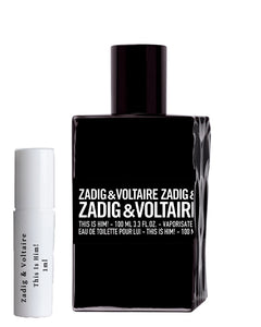 Zadig & Voltaire This Is Him! geurmonster 1ml