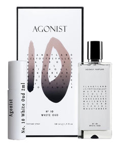 Agonist No. 10 White Oud samples 2ml
