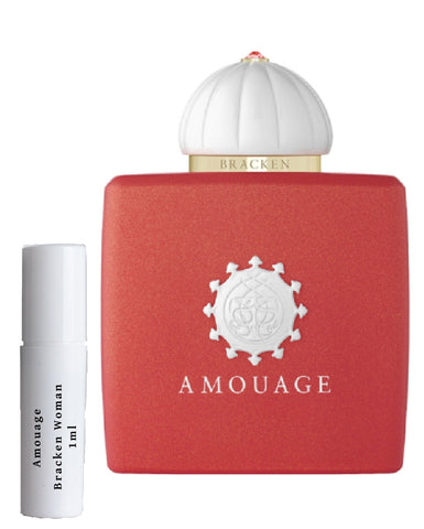 Amouage Bracken women samples
