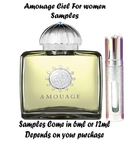 Amouage Ciel Samples for Women