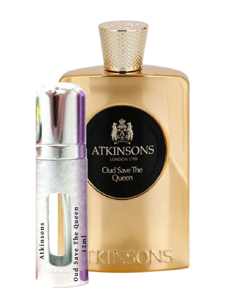 Atkinsons Oud Save The Queen try me sample 12ml