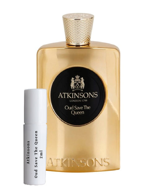 Atkinsons Oud Save The Queen try me sample 2ml
