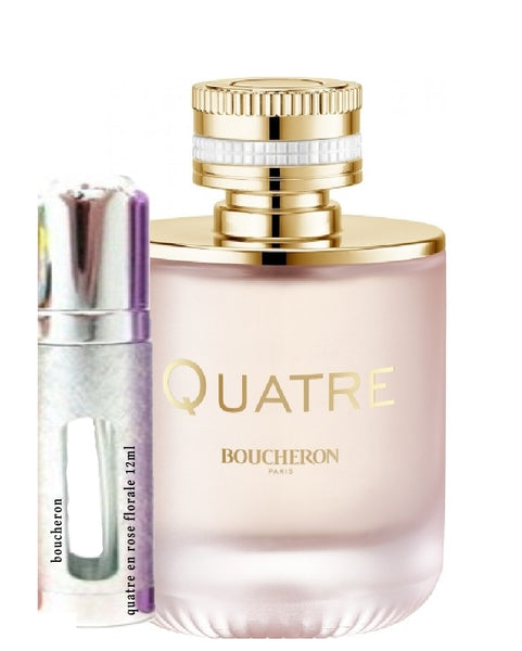 عينات Boucheron Quatre en Rose Florale 12ml