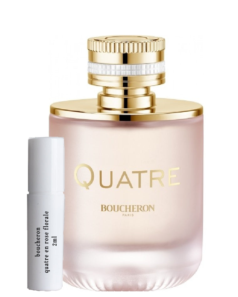 Boucheron Quatre en Rose Florale samples 2ml
