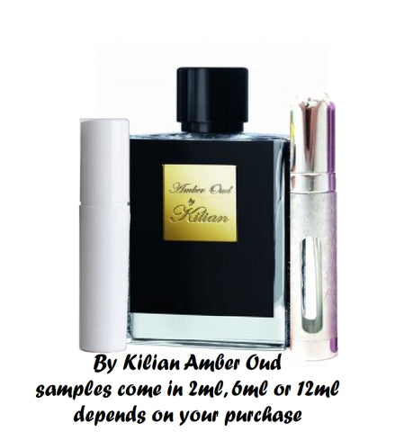 By Kilian Amber Oud Samples