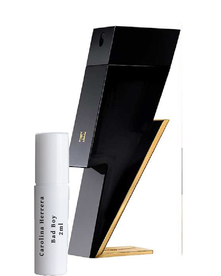 Carolina Herrera Bad Boy sample 2ml