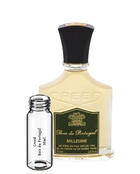 Creed Bois du Portugal samples 30ml 1 fl. oz