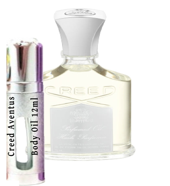 Creed Aventus Body Oil samples 12ml