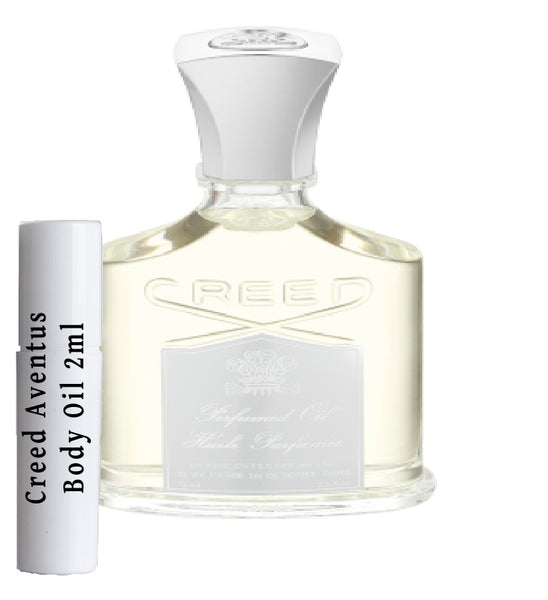 Creed Aventus Body Oil samples 2ml