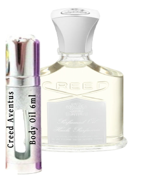 Creed Aventus Body Oil samples 6ml