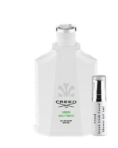 Creed Green Irish Tweed Shower Gel samples