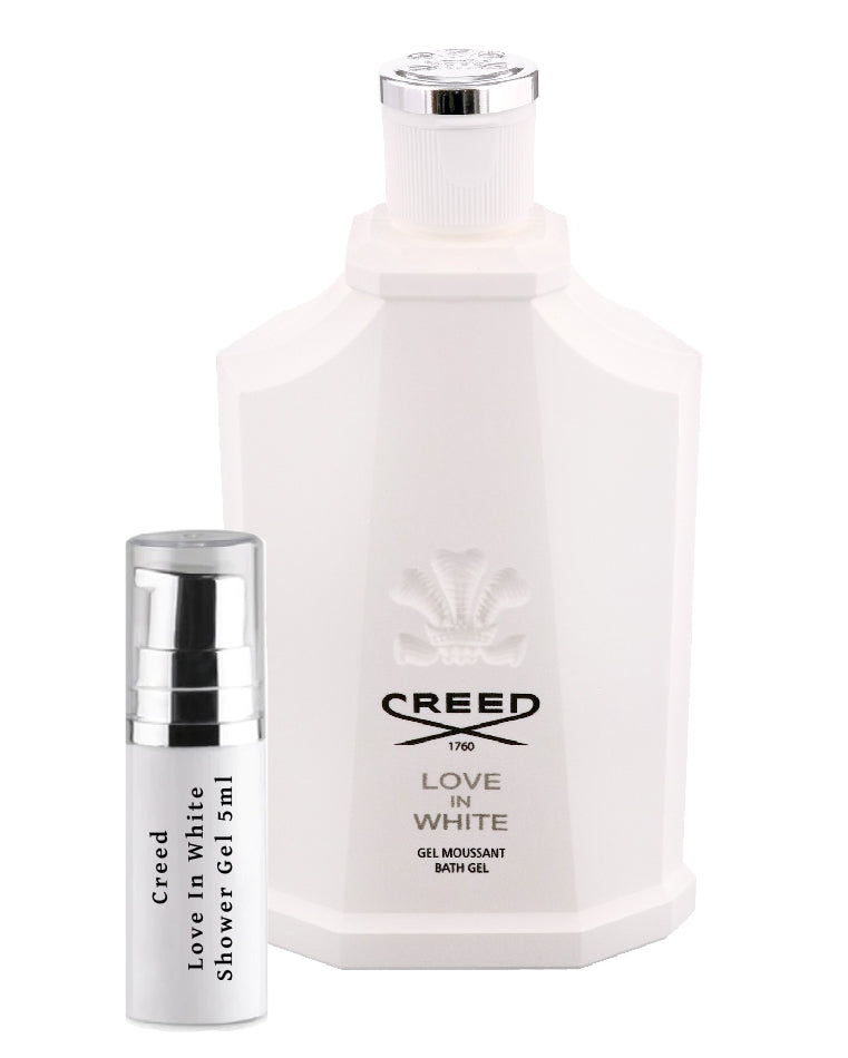 Creed Love In White Shower Gel samples