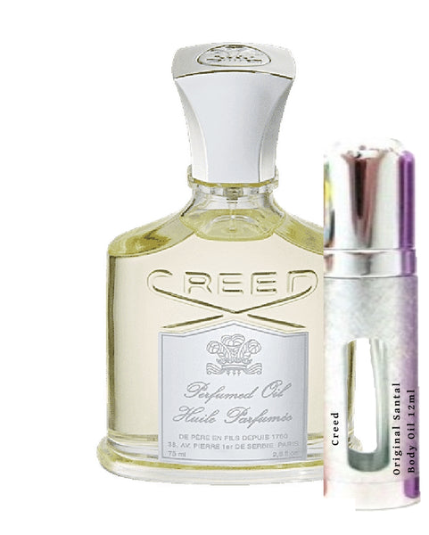 Creed Original Santal Body Oil samples 12ml
