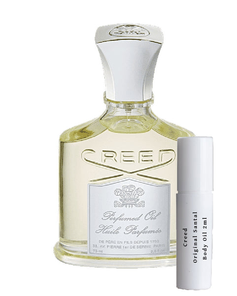 Creed Original Santal Body Oil samples 2ml