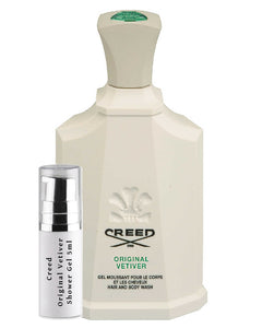 Creed Original Vetiver Shower Gel samples